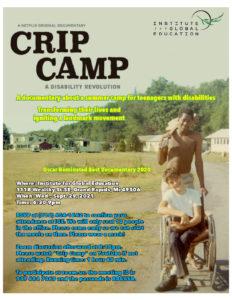 Crip Camp movie on Netflix or Youtube